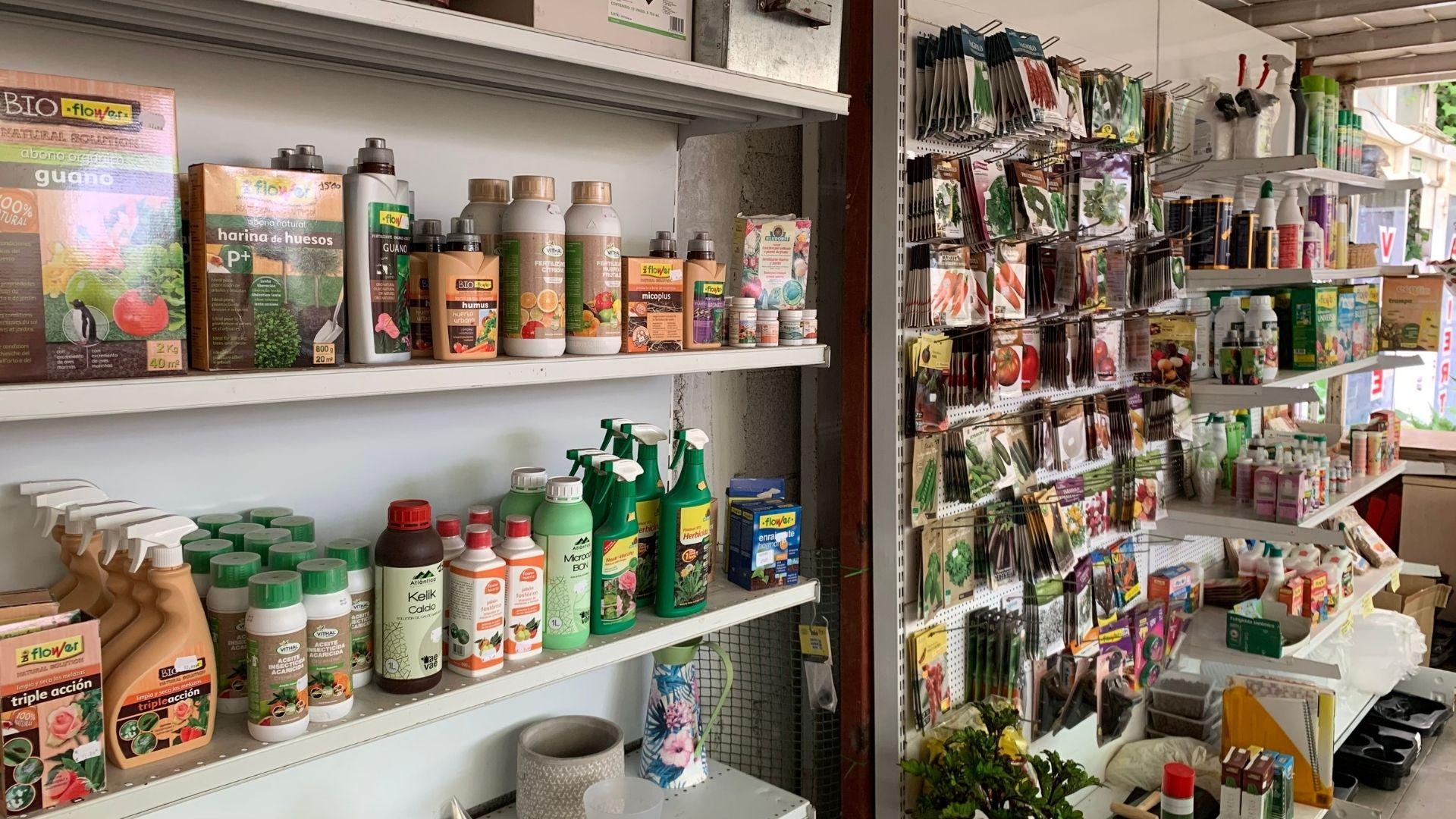 comprar articulos jardineria en tenerife