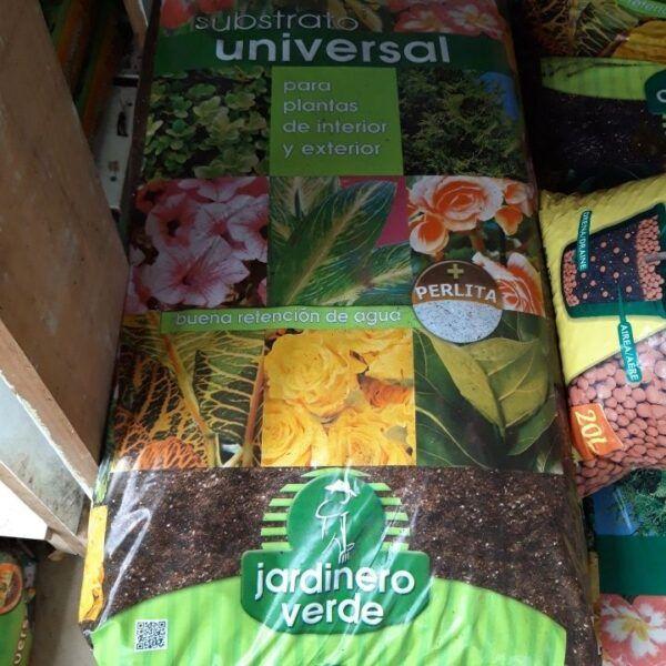 substrato universal jardinero verde 40 litros