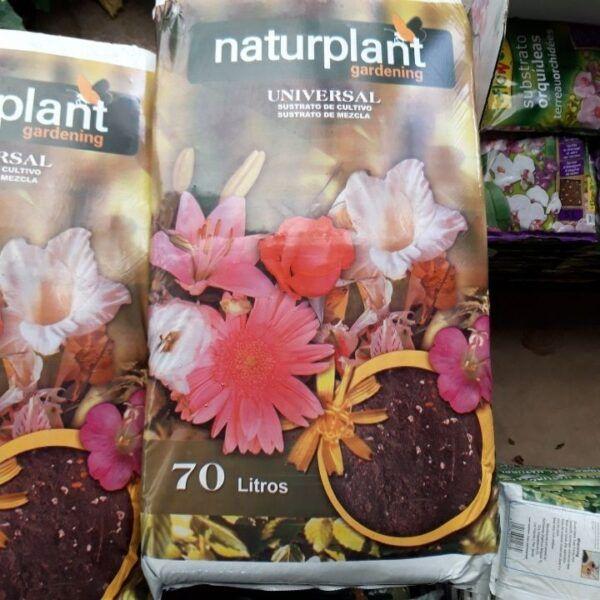 substrato universal naturplant 70 litros